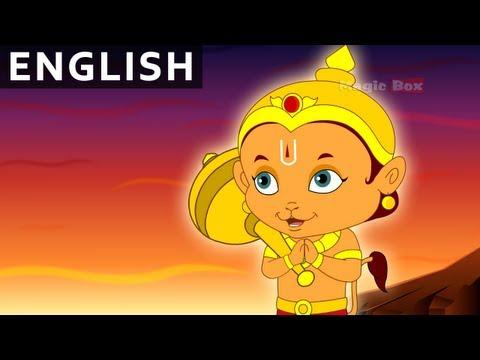 Rama Meets Hanuman - Hanuman In English - Animation / Cartoon Stories For Kids