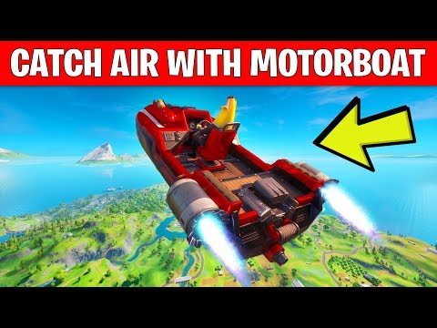 CATCH AIR WITH A MOTORBOAT - LOCATION GUIDE TNTINA'S TRIAL WEEK 3 CHALLENGES FORTNITE