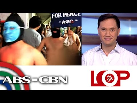 In the Loop: Oblation Run against Marcos burial