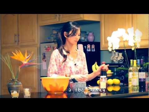 """SAFIRE TV : """"How to make Five Spice chicken wings"""" with Thuy Phan"""