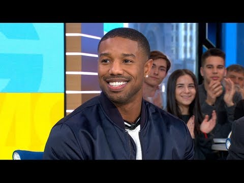 Michael B. Jordan calls 'Black Panther' part of a 'movement' in film