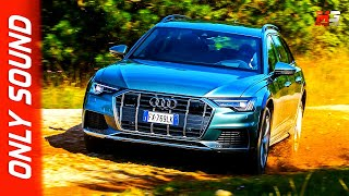 NEW AUDI A6 ALLROAD 2020 - FIRST OFFROAD TEST DRIVE ONLY SOUND