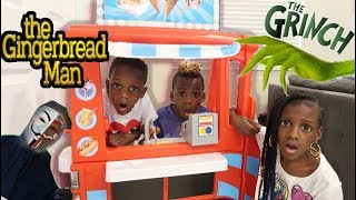 Super Siah & Panton Kids Traps The Grinch & GM Using Food Truck