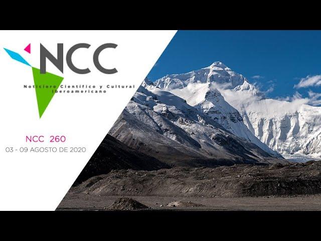 Noticiero Científico y Cultural Iberoamericano, emisión 260. 03 al 09 de Agosto 2020