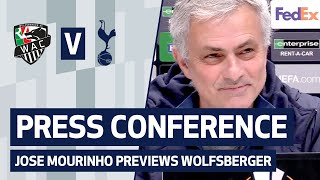 JOSE MOURINHO PRESS CONFERENCE | <b>Europa League</b>
