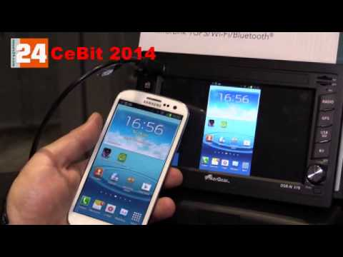 cebit 2014 pearl dsr n 370 navgear 2 din android. Black Bedroom Furniture Sets. Home Design Ideas