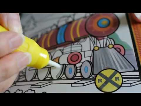 Water Wows ASMR soothing coloring - YouTube