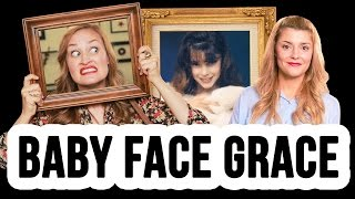 Baby Face Grace | Picture Day with Mamrie Hart // I love makeup.