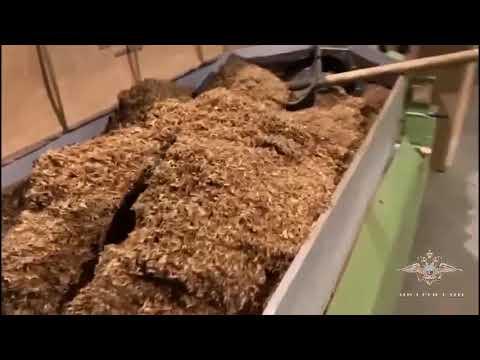 В Подмосковье пресечена незаконная деятельность четырех цехов по производству табачной продукции