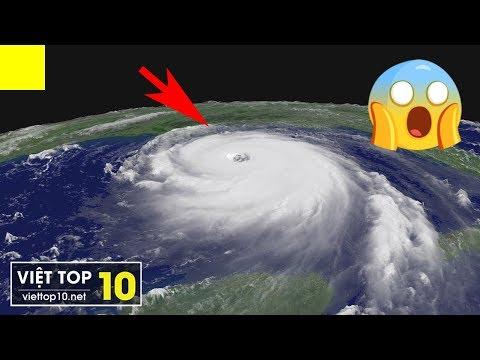 Khiếp Sợ với Top 10 CƠN BÃO MẠNH NHẤT trong lịch sử nhân loại   Siêu bão Mangkhut đang đổ bộ
