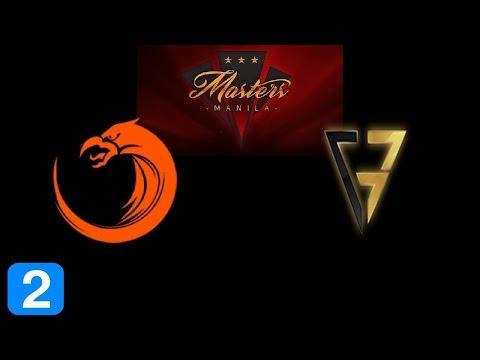 TNC vs Clutch Gamers Game 2  Masters Manila 2017 Highlights Dota 2