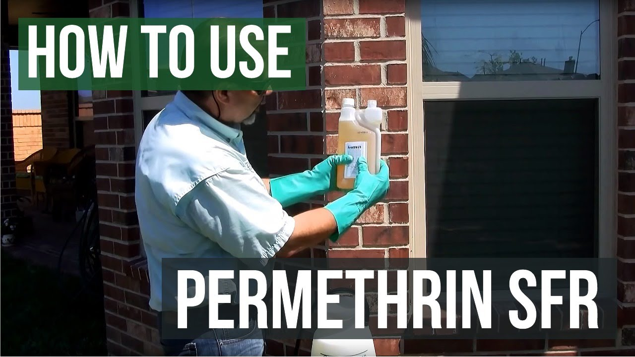 How to Mix and Use Permethrin SFR Insecticide