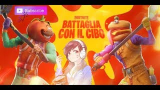 Live Fortnite Ita - Nuova modalità ´Food Fight` w/Ghidan 89