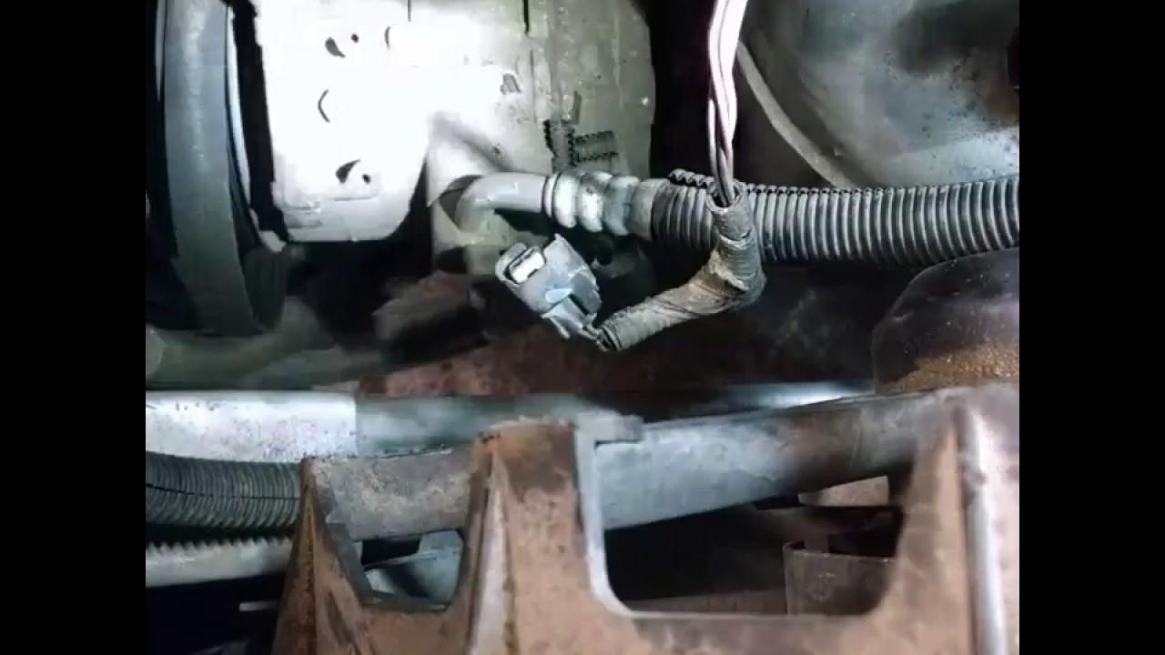 07 Chrysler Sebring 2 7 Alternator Replacement