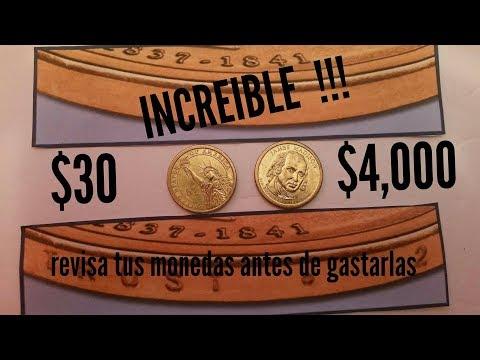 MONEDAS PRESIDENCIALES DE 1 DOLAR CON VALOR EXTRA!!!!!!( Recuerda Participar Al Final Del Video)