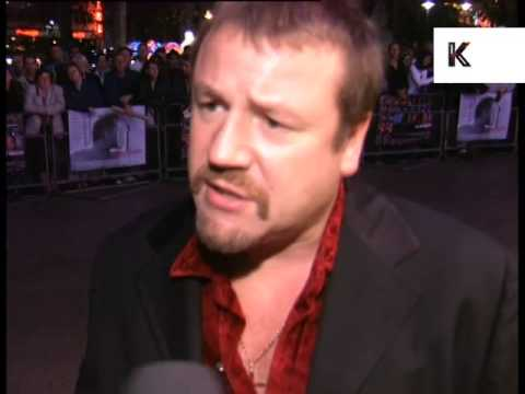 Ray Winstone at 1997 Nil By Mouth Film Premiere, London, 1990s Archive Footage