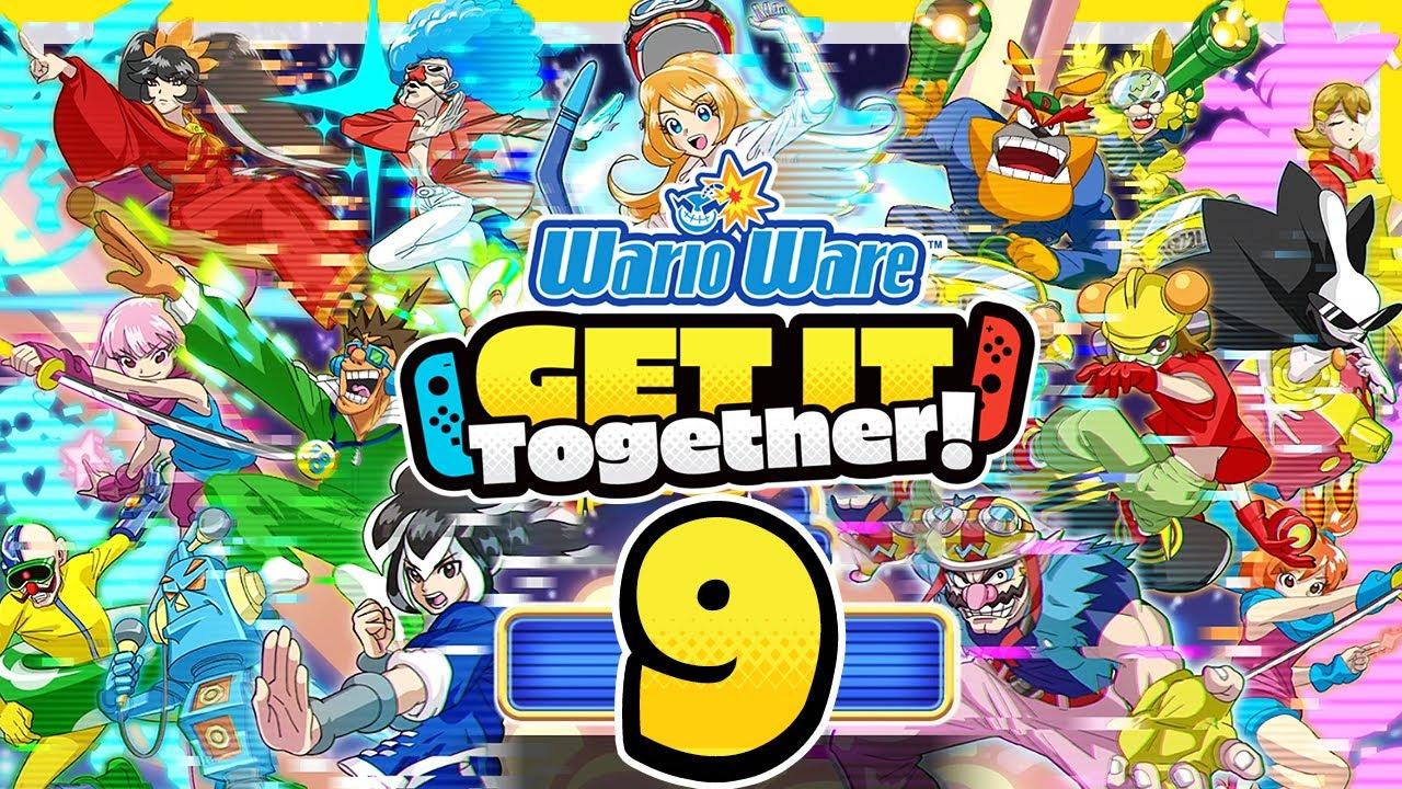 Download WARIOWARE: GET IT TOGETHER! # 09 🧄 Einzelkrampf und mehr im Potpourri-Modus!