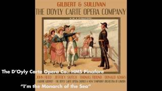 I'm the Monarch of the Sea - HMS Pinafore