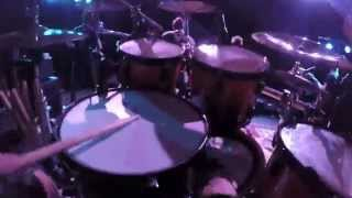 "Forevermore - ""Force Fed"" Live GoPro Drum Cam"