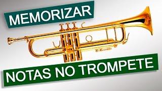Como Memorizar Notas no Trompete? Escala Parte 01