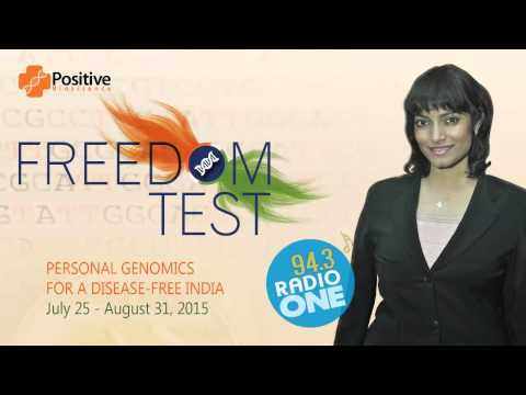 Genetic Counsellor - Pooja Lodaya interview on Radio One about Personal Genomics and Freedom Test