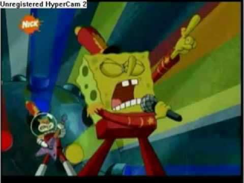 Spongebob Singing T.N.T. (AC/DC)