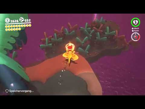 Super Mario Odyssey Verlorenes Land 18 Segelflug über Eiland