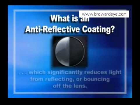 Anti reflective coating on eye glasses youtube for Anti reflective watches