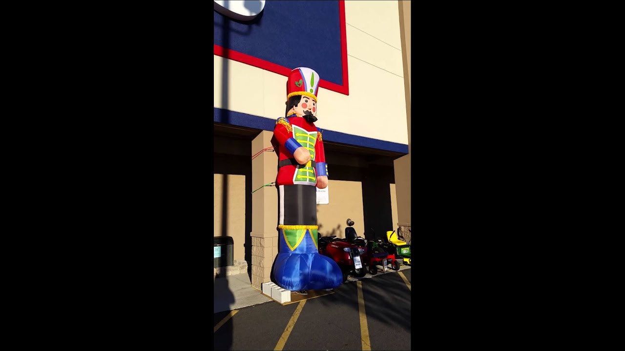 lowes nutcracker goes wild youtube - Lowes Inflatables