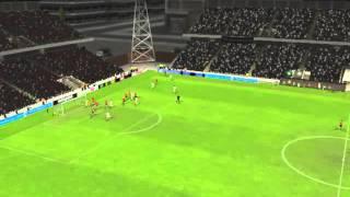 Santos x Brasil de Pelotas - Gol de Ronaldinho Ga�cho 61 minutos