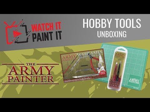 The Army Painter - Hobby Tools Unboxing / First Look