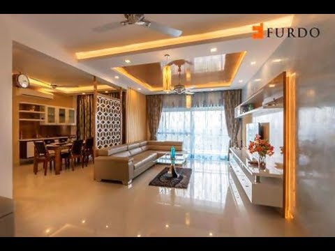 Interior Design In Bangalore: DNR Atmosphere | 4BHK | Furdo Design