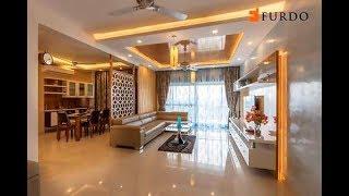 Interior Design In Bangalore: Dnr Atmosphere | 4bhk | Furdo Design