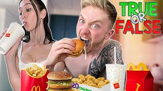 Retirement 'McDonalds Mukbang' with Couples TRUE or FALSE.