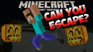 Minecraft Pocket Edition | CAN YOU ESCAPE?? | Custom Adventure Map [0.9.4]