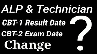 ALP & Technician| Change Exam Date/ Results date|Announced by KaraMazu Sarkari Naukri