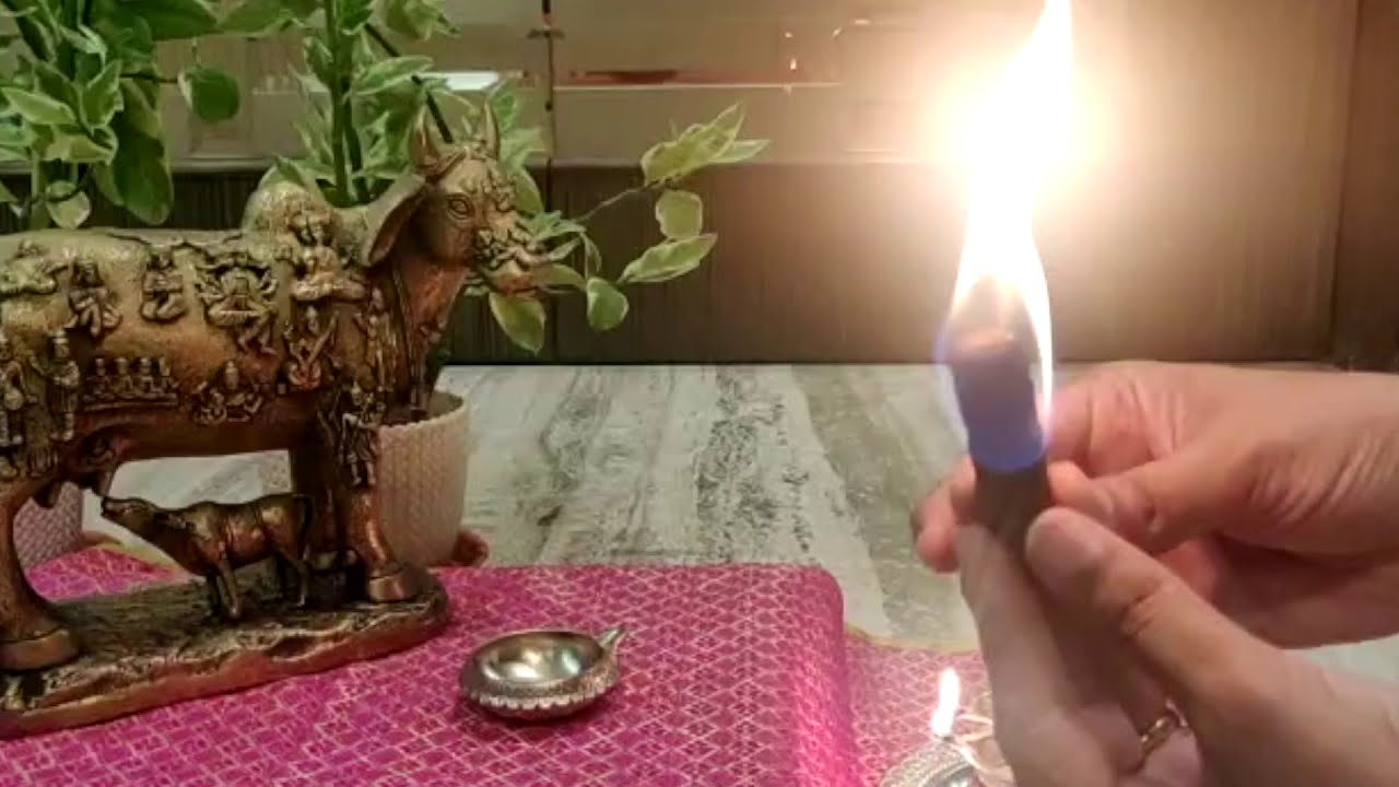 How to Light Dhoop Sticks ?