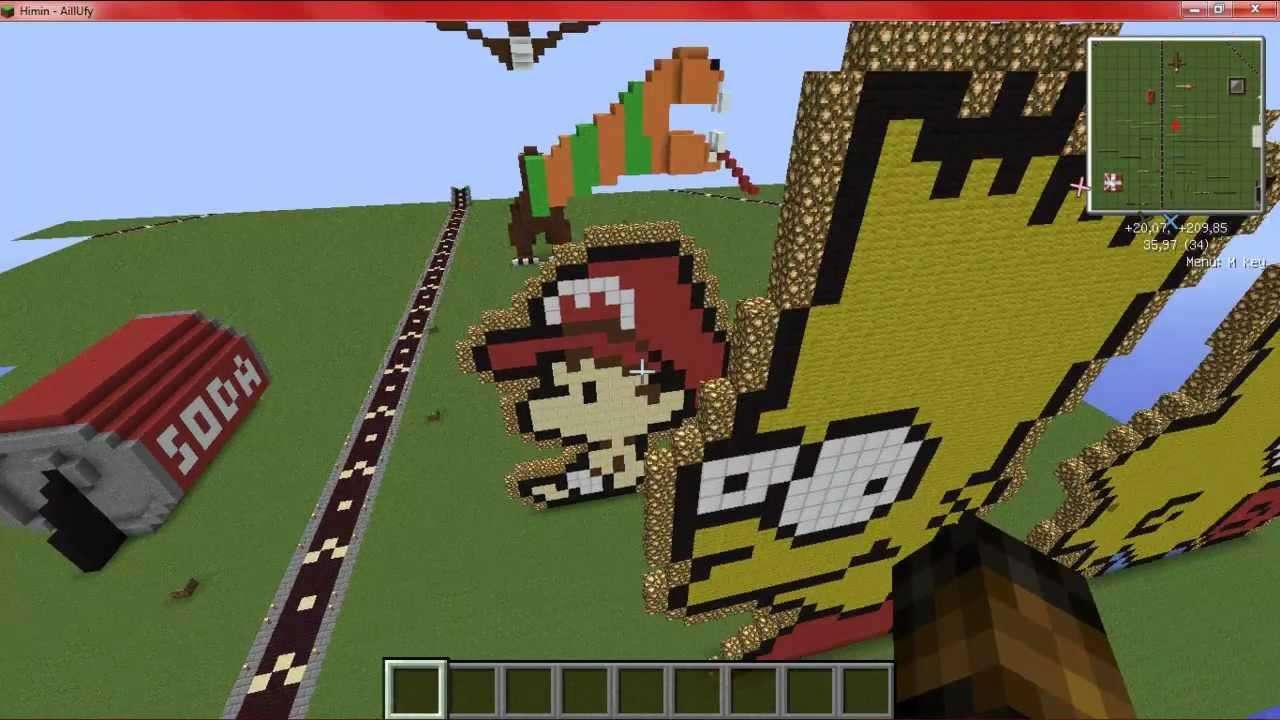 Minecraft construction de fou ep 1 youtube - Minecraft construction de fou ...