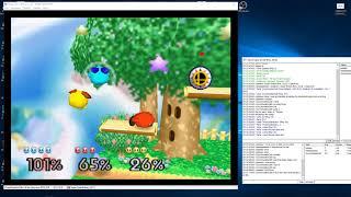 Super Smash Bros. Justase Vs. aaaaaaaaaaa Vs. Cory (N64 kaillera netplay) #1