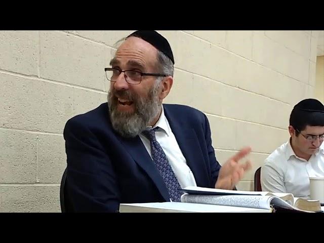Rabbi Niman Mussar Vaad in NY
