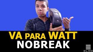 Nobreak: Como converter VA para Watts - Elmo