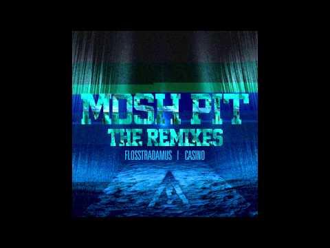 Flosstradamus feat. Casino - Mosh Pit (Meaux Green & Party Favor Remix) [Cover Art]