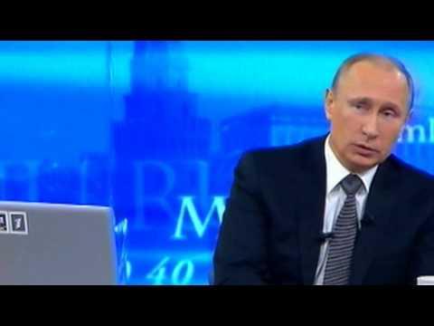 Путина попросили отменить ЕГЭ на прямой линии!1