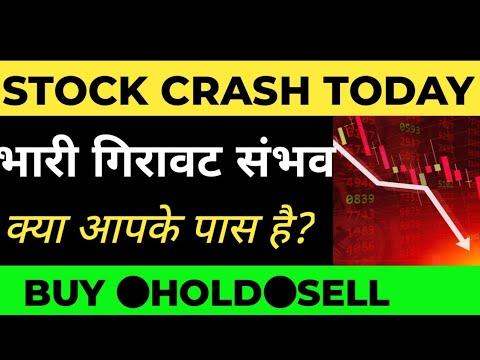 -9% STOCK CRASH 😨😱😱 ● REASON OF CRASH●STOCK MARKET LATEST NEWS●INFO EDGE SHARE●STFL LATEST VIDEO●