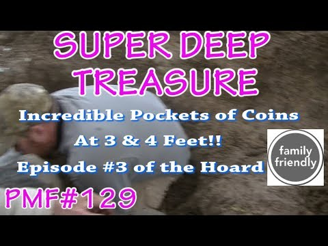 PMF#129 Super Deep TREASURE HOARD Found Pt 3  Midwest Oak Island Silver 2018