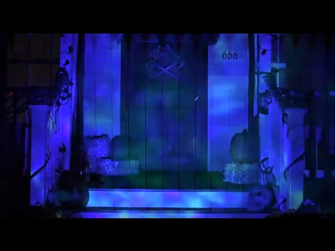Fire  Ice Outdoor Blue Water LED Light  Spirit Halloween