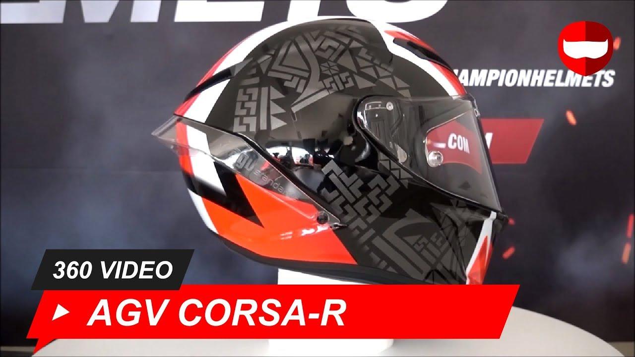AGV Pista GP R Liner Black//Red L Motorcycle Helmet Replacement