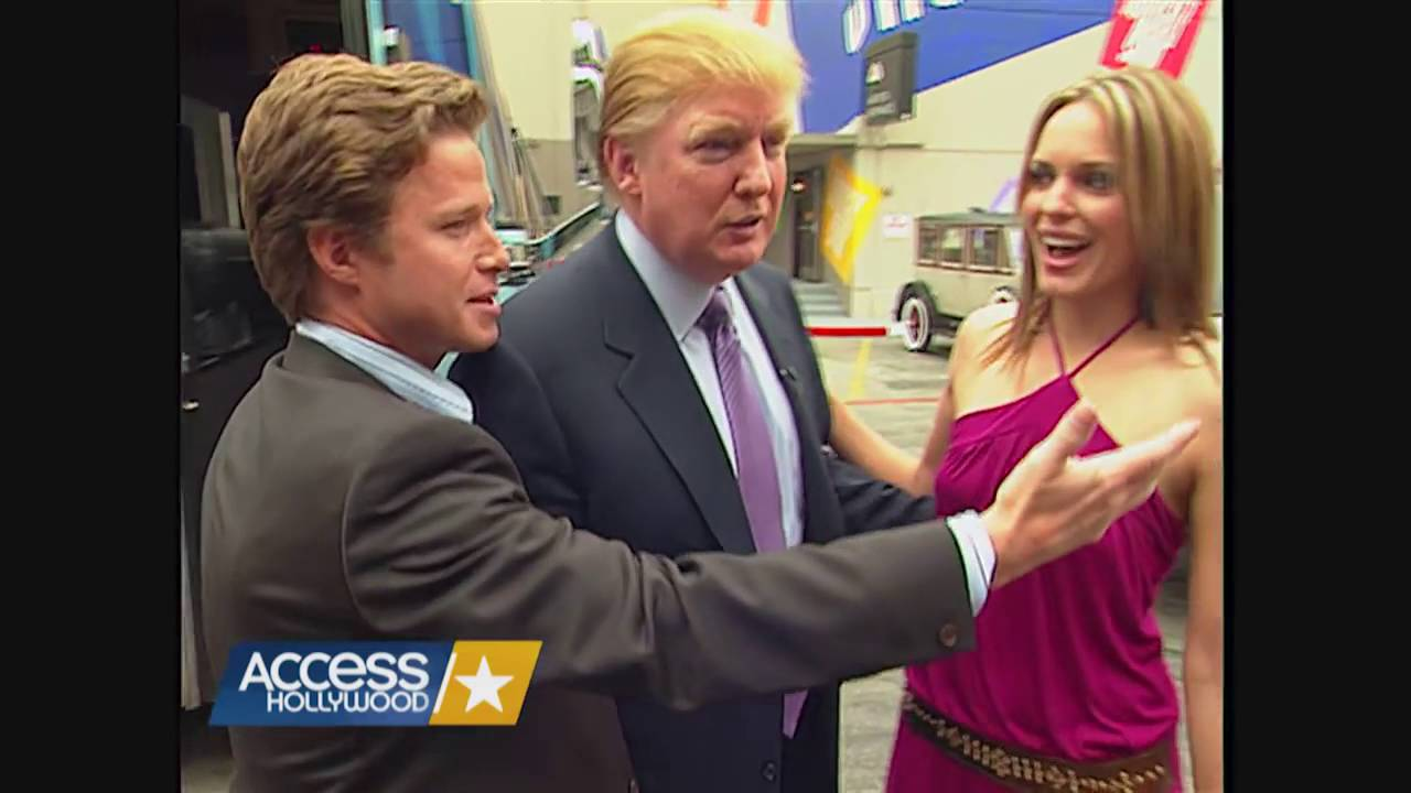 Image result for access hollywood trump pictures
