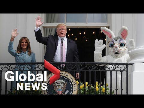 Trump, First Lady attend 2019 White House Easter Egg Roll
