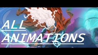 Furi - All Bosses, Grapples and Critical Animations